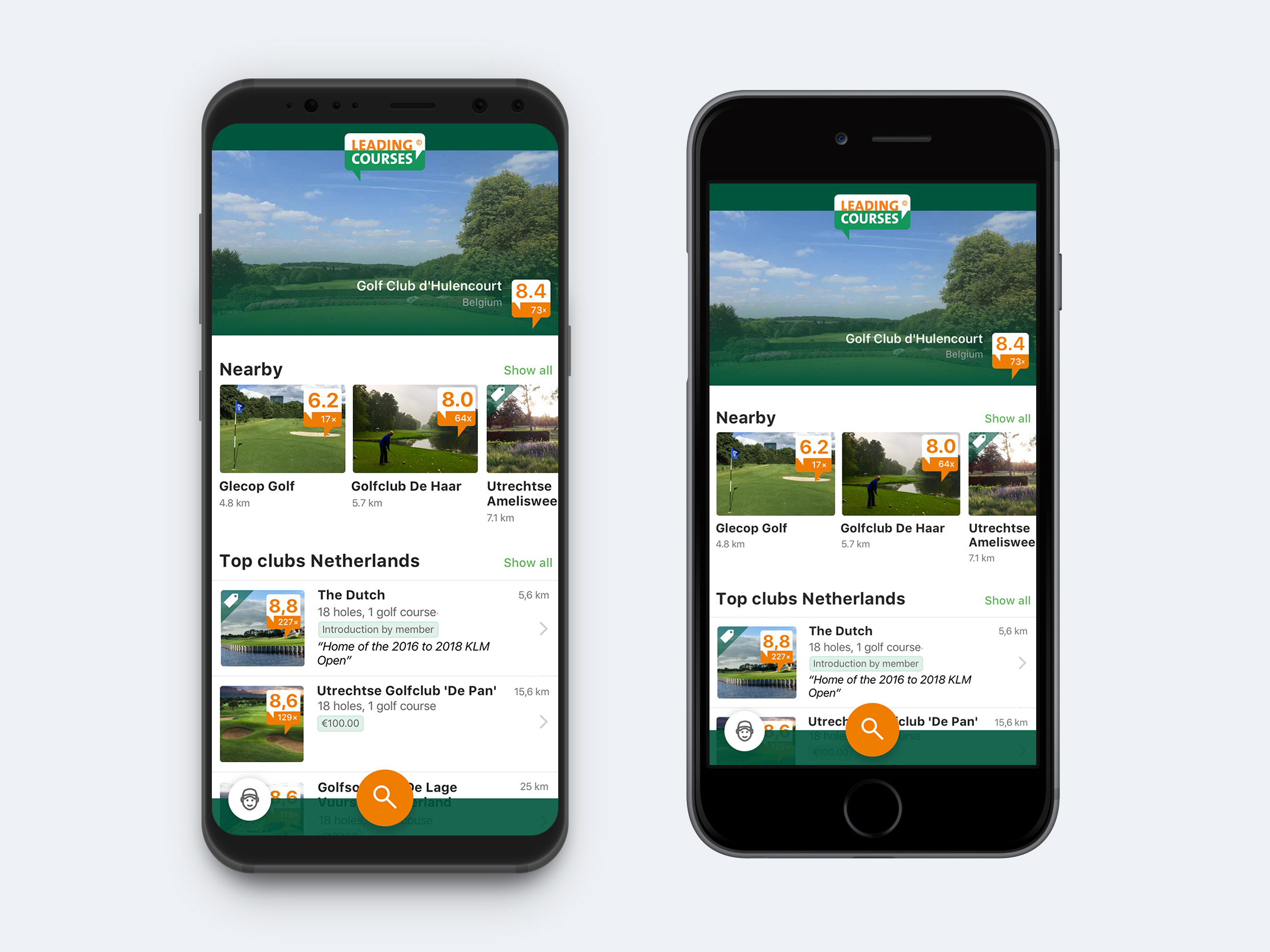 LeadingCourses.com Mobile App